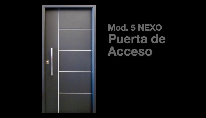 B a r o n e aberturas la plata for Puertas metalicas para casas modernas